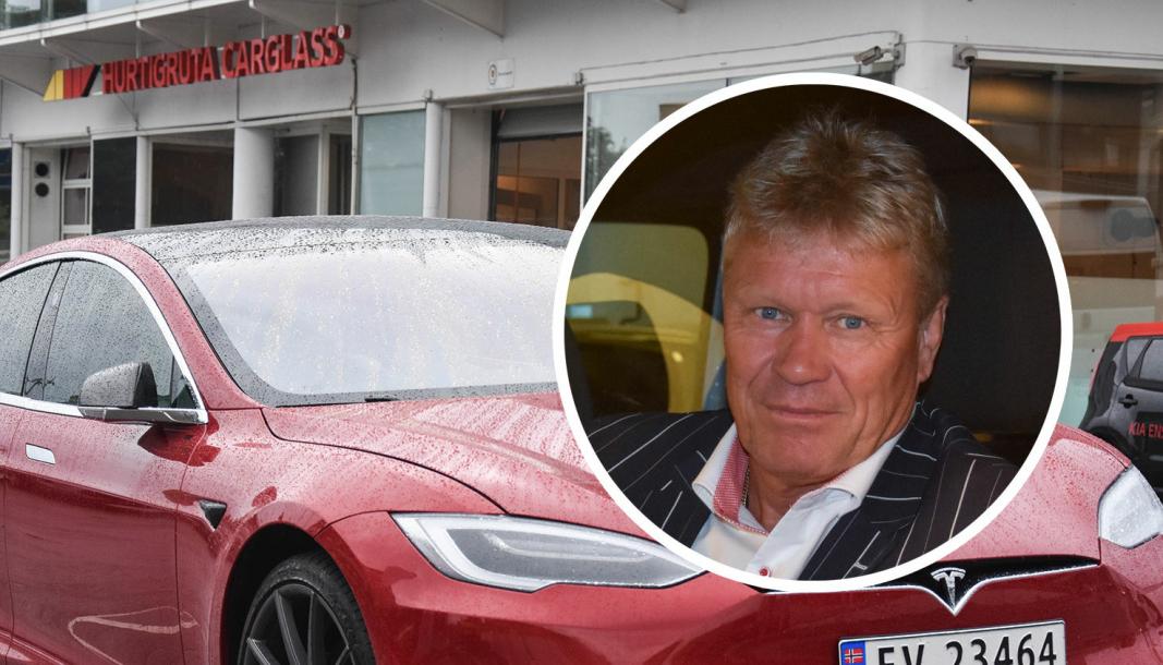 <em>Administrerende direktør i Hurtigruta Carglass, Morten Bjørlo.</em>