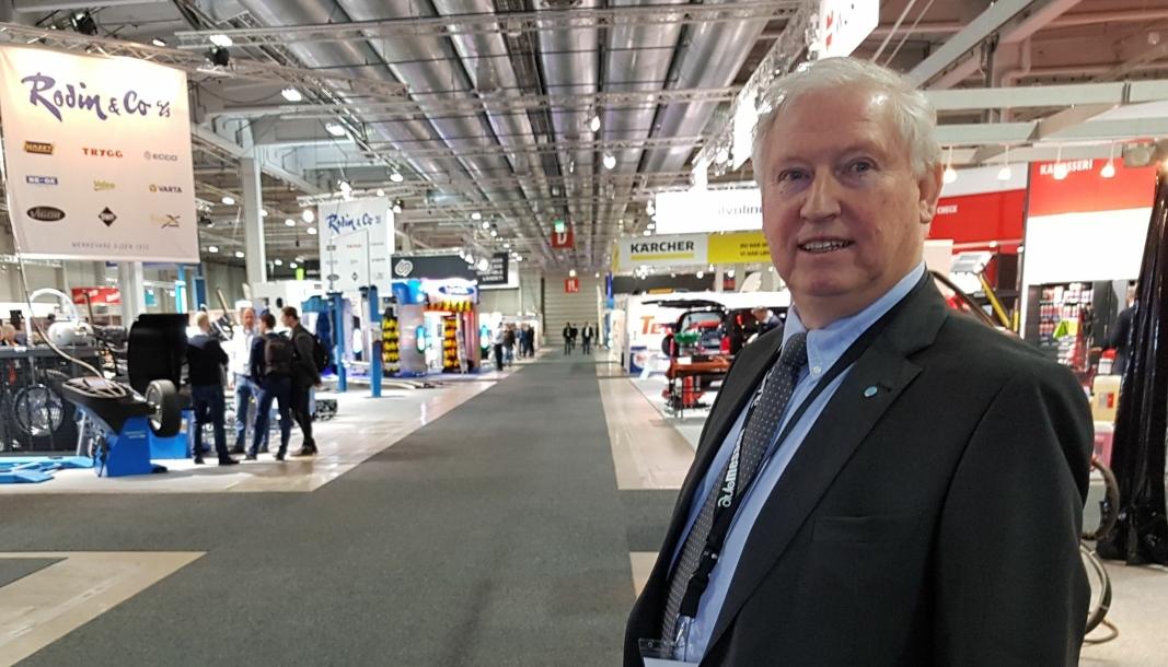 Arild Hansen er daglig leder i Autobransjens Leverandørforening (ABL) og «messegeneral» for Automessen 2022.