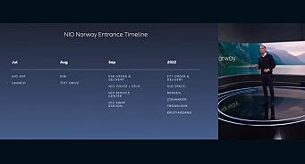 Nio: Dette blir salgs- og servicepunktene i Norge
