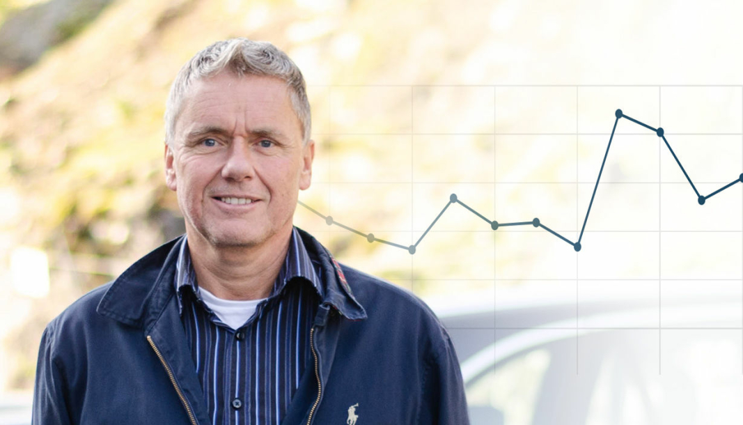 <em>Administrerende direktør i Sørensen og Balchen, Morten Birkeland.</em>
