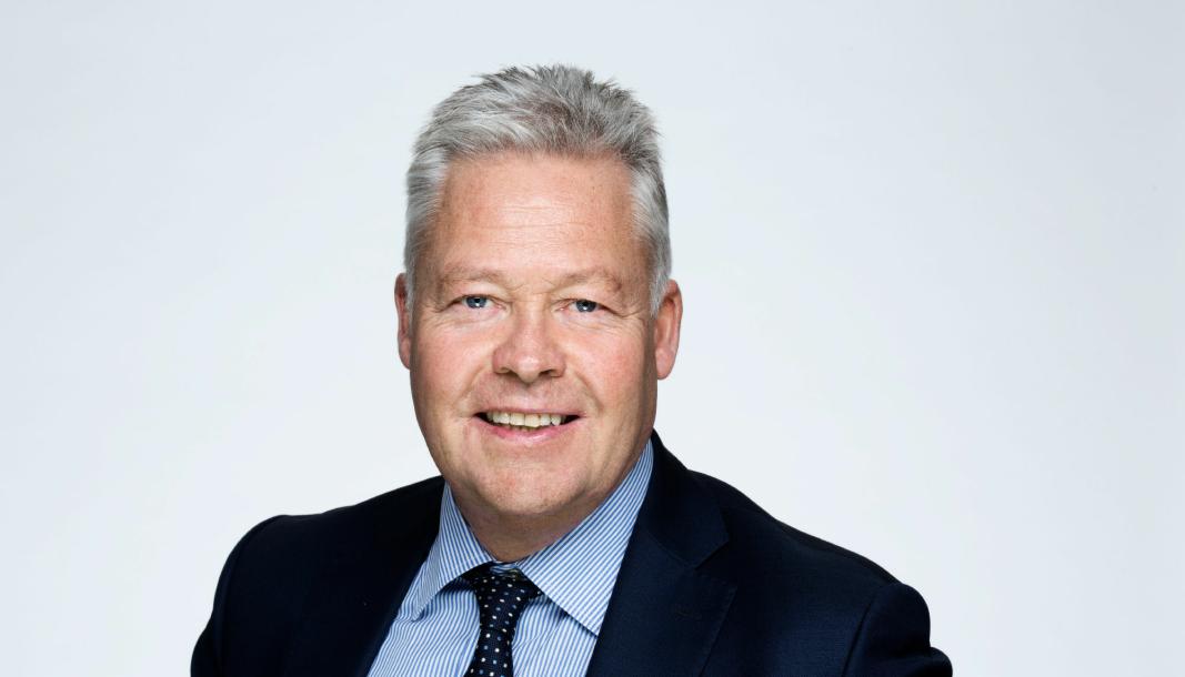 Helge Leiro Baastad er konsernsjef i Gjensidige Forsikring