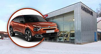 Blir Citroën-forhandler på Gjøvik