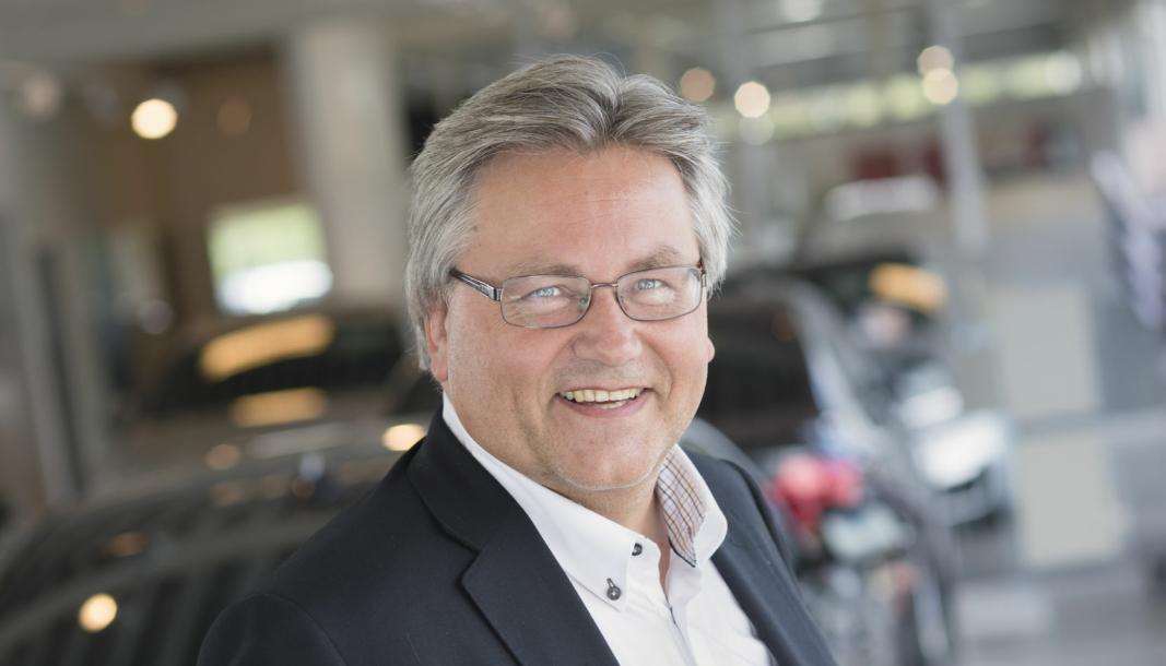 <em>Helge Ellingsen ble ansatt som ny administrerende direktør i Kverneland Bil i fjor sommer.</em>