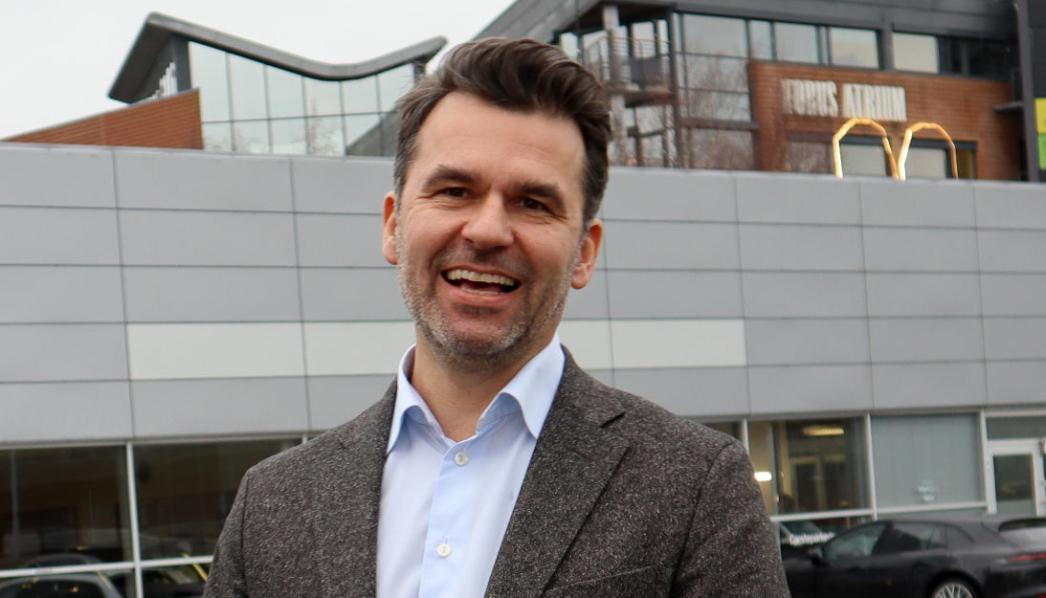 Hallvard Vikeså er administrerende direktør i Bavaria Norge.