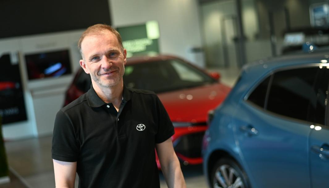 <em>Eier og daglig leder i Brages Bilforretning, Espen Digernes.</em>