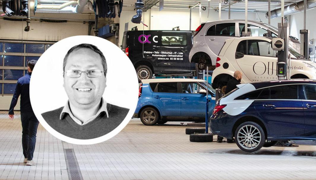 <em>Knut Ole Magistad er ny fagsjef i Norges Bilbransjeforbund.</em>