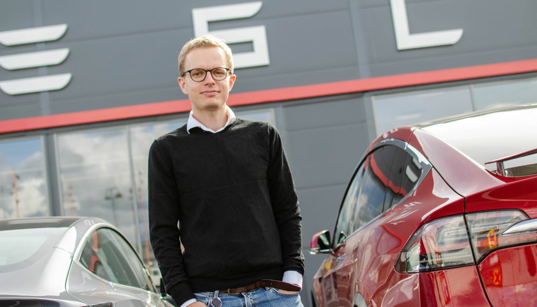 Even Sandvold Roland er kommunikasjonssjef i Tesla Norge.
