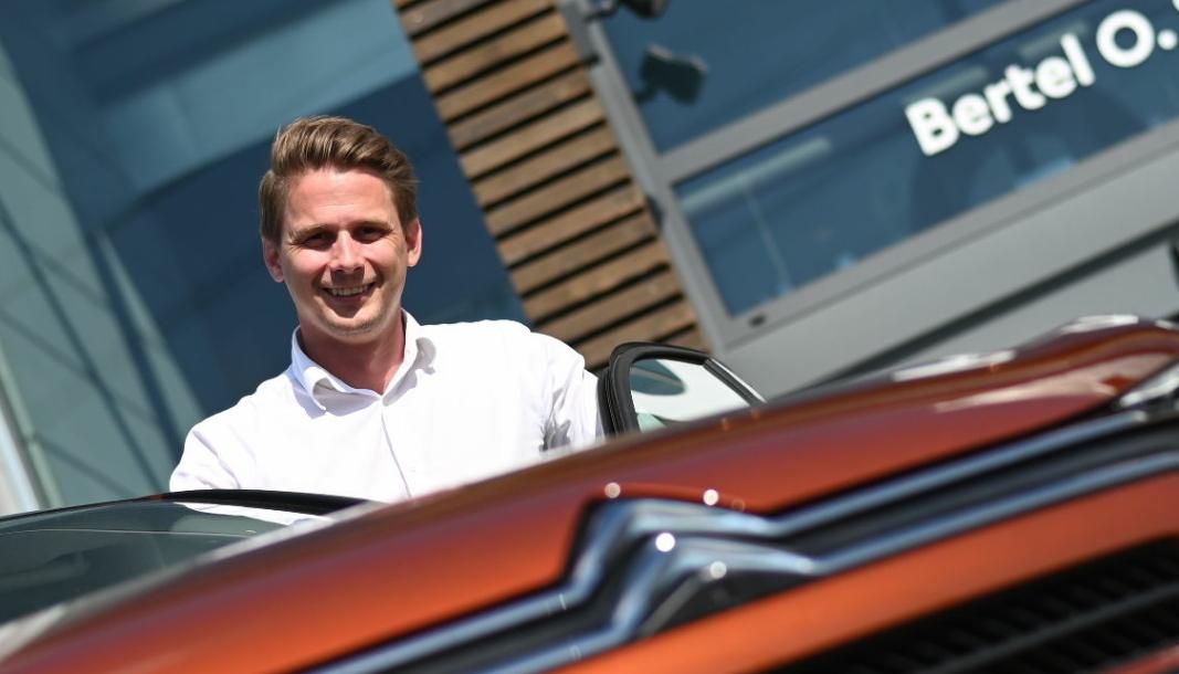 <em>Ole Nedenes er leder for den norske Citroën-importøren.</em>