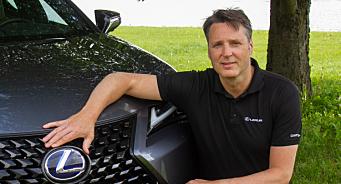 Han blir ny sjef for Lexus i Norge