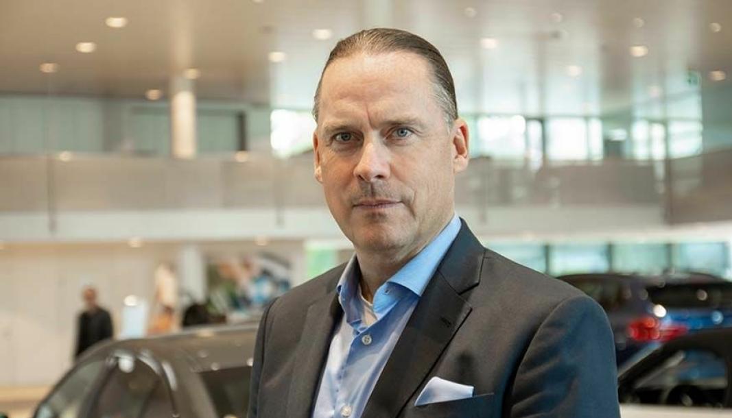 Marcus Larsson er administrerende direktør i Hedin Automotive.