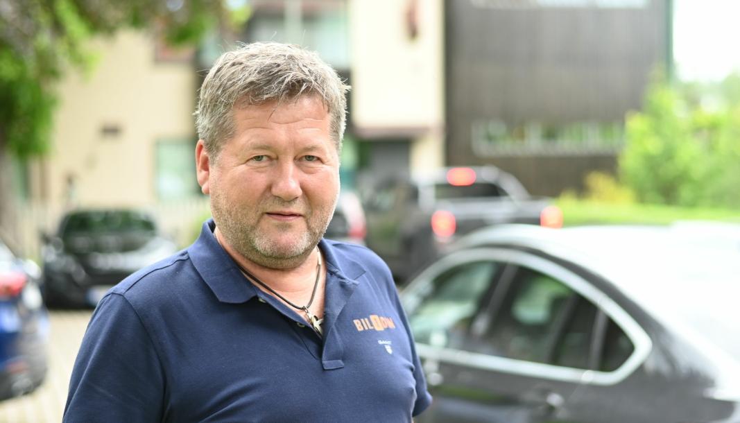 Bjarne Brøndo, hovedaksjonær i Bil1Din, har flere ideer for hvordan brukte deler skal bli mer attraktivt.