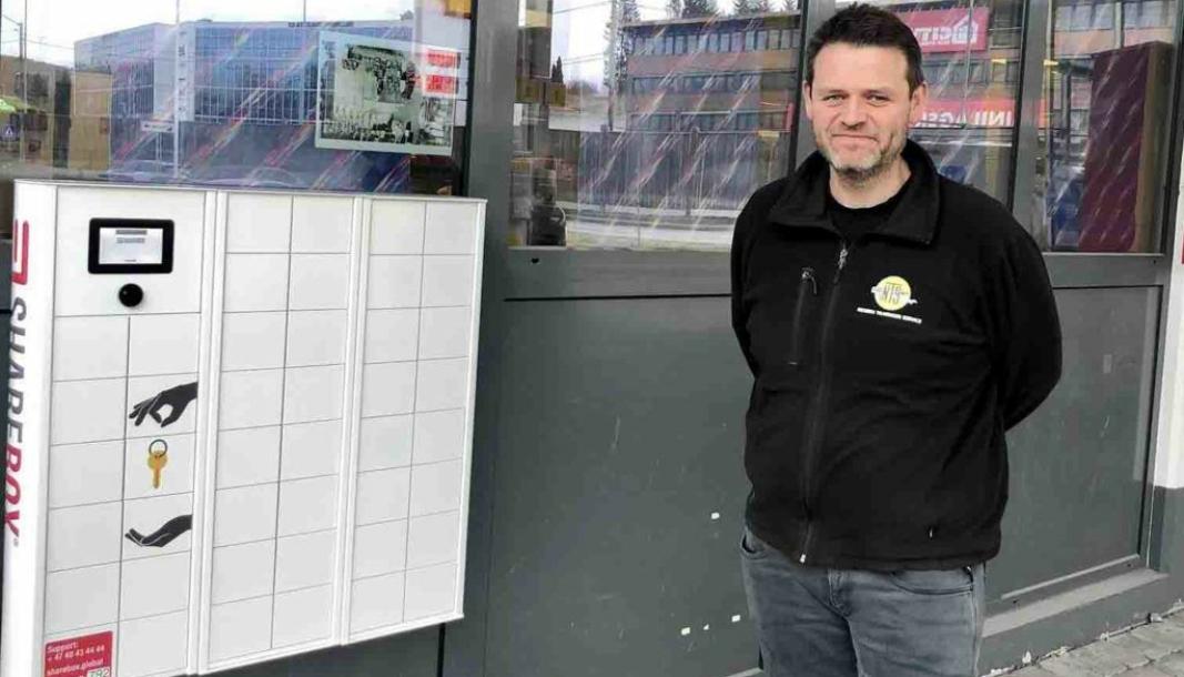 Martin Toft, daglig leder i Nesbru Tilhenger Service AS har veldig gode erfaringer med nøkkel-system fra ShareBox og ShareFox.