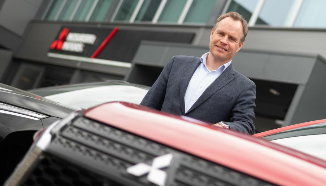 <em>Import-sjef i Motor Gruppen og direktør for MMC Norge AS, Rune Gjerstad.</em>