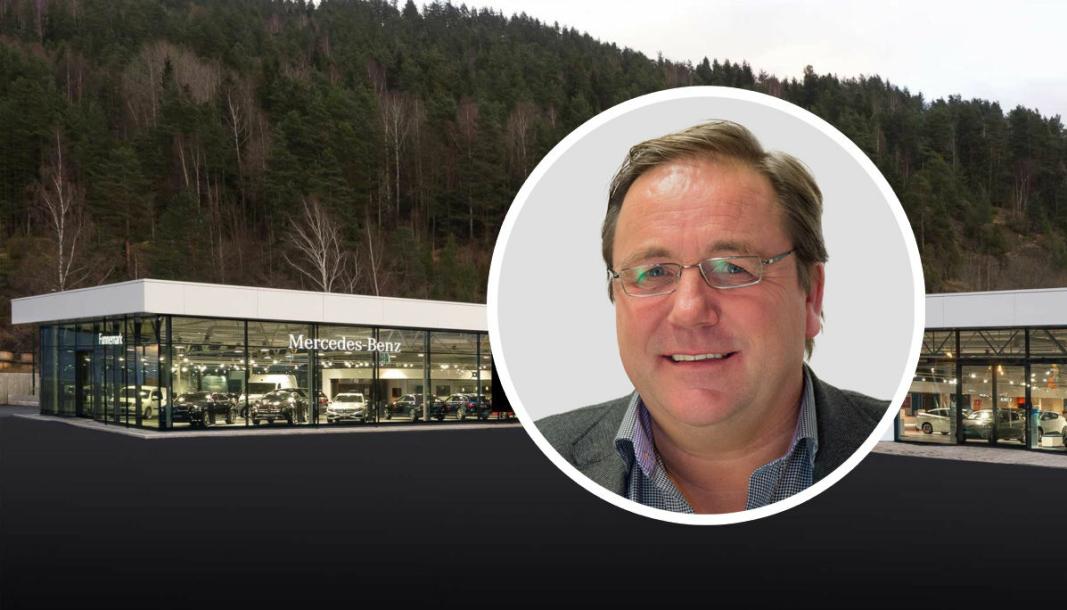<em>Dag Christensen, regiondirektør med ansvar for BMW og Mini i Bilia Personbil.</em>