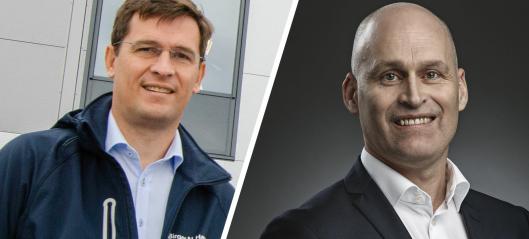 Birger N. Haug: Vidar Eriksen tilbake som billeder - Lars Borger Hansen blir konsernsjef