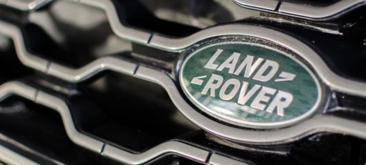 Omsetningsskrell for Jaguar Land Rover-importøren
