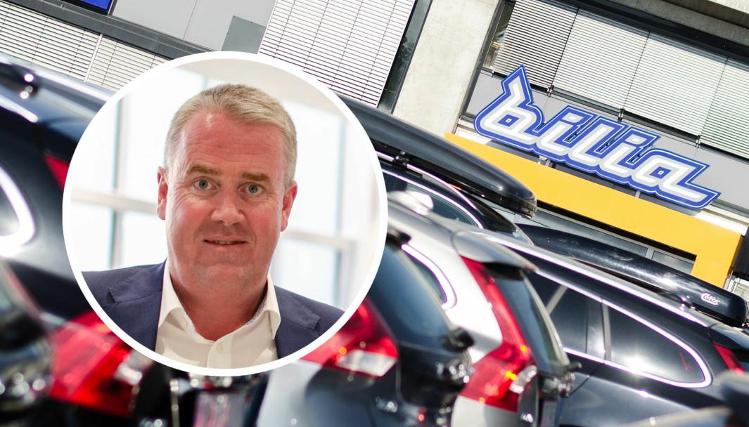 Administrerende direktør for Bilia i Norge, Frode Hebnes.