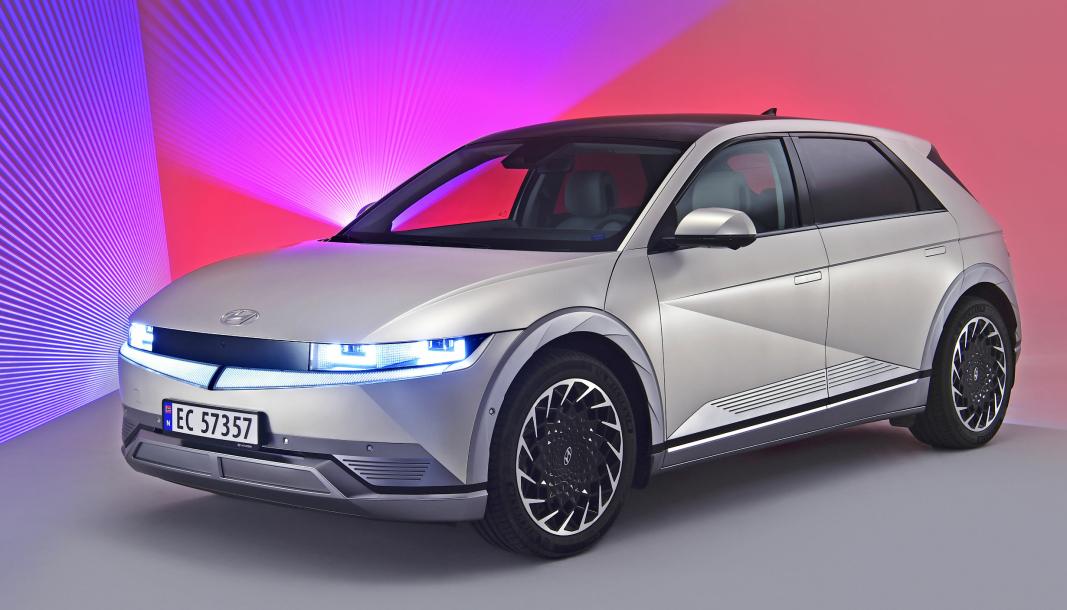 Hyundai Ioniq 5 er en av de ferske SUV-ene på markedet som gjør seg bemerket på registreringsstatistikken for juli.