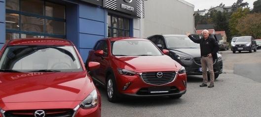 Selger forhandleren – ny eier får ikke ta med Mazda-agenturet