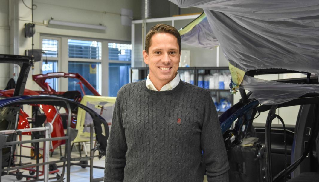 Svein Aarum er tidligere daglig leder for Drammen Karosseri.