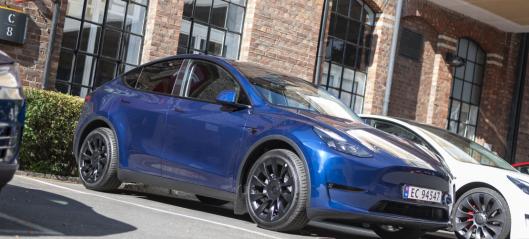 Bilsalget i august: Tesla vant på oppløpet - 72 prosent elbil-andel
