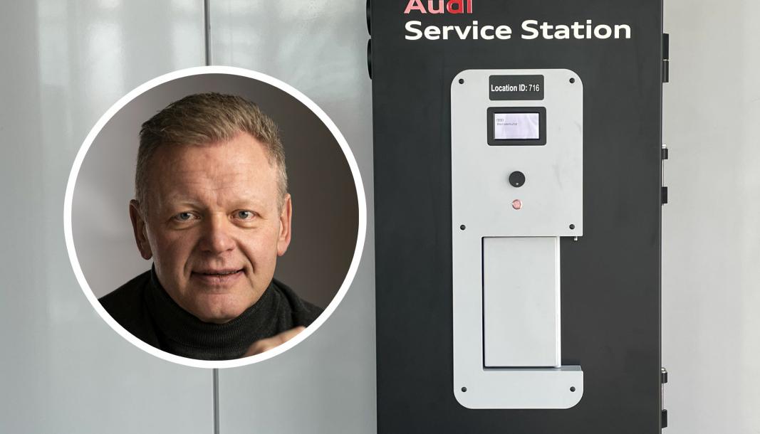 Kjetil Faye Lund er markedssjef i Sharebox, et norsk IT-selskap som har spesialisert seg på nøkkelautomater.