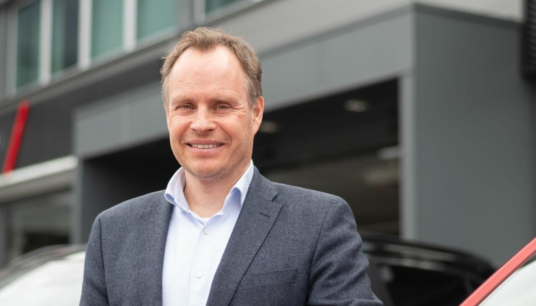 Rune Gjerstad er importsjef i Motor Gruppen.