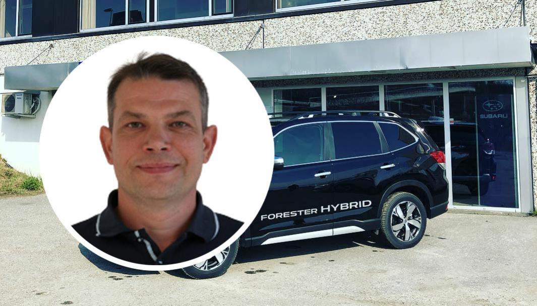 Bård Sørensen starter bruktbilforretning sammen med en kollega og en investor - i lokalene til en tidligere merkeforhandler.
