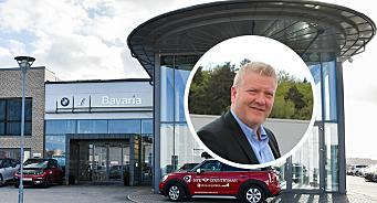 Bavaria-forhandler med storsatsing på bilskade