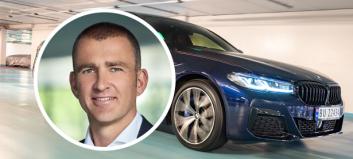 Omrokkeringer hos BMW Norge - og ny sjef i Stockholm