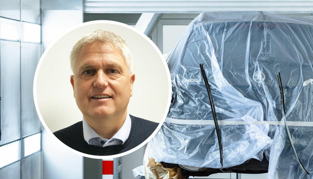 Kurt Eskevik, direktør for skade i Møller Bil.