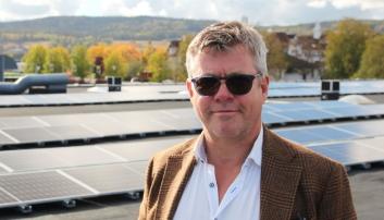 Møller-forhandler med stor-investering i energi-tiltak: Reduserer strøm-forbruk med 25 prosent