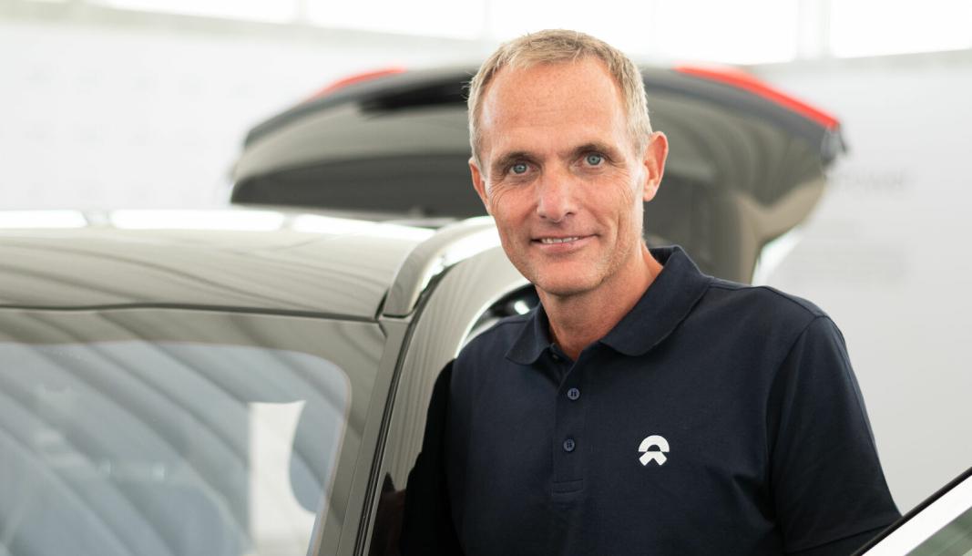Marius Hayler er leder for den kinesiske elbil-produsenten Nios satsing i Norge.