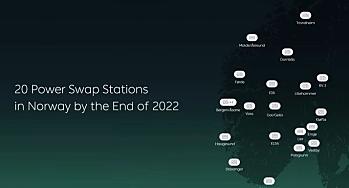Her skal Nio bygge 20 batteribytte-stasjoner innen 2023 - dette blir prisene på bilene