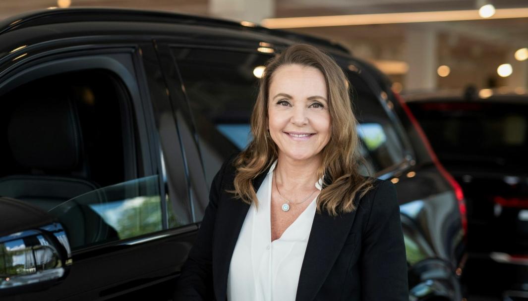 Rita Kristin Broch, administrerende direktør i Volvo Car Norway.