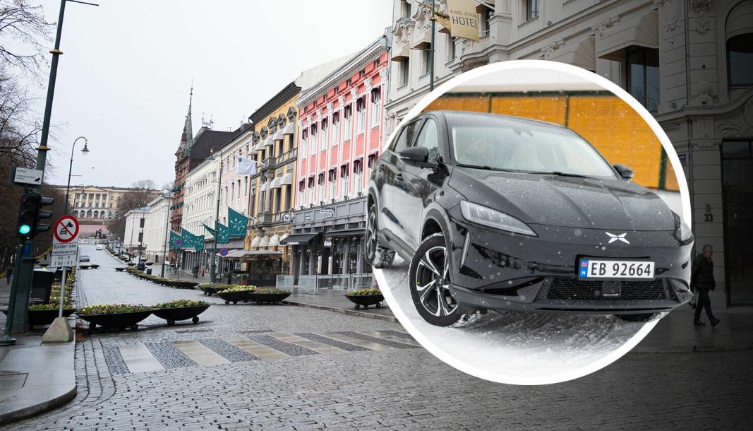 Karl Johans gate er førsteprioritet for det kinesiske bilmerket Xpengs jakt på sentrums-lokaler i Oslo.