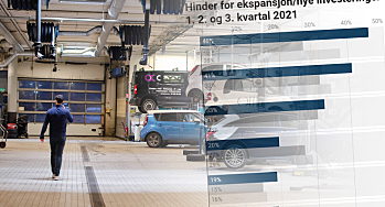 Det største hinderet for ekspansjon og nye investeringer i bilbransjen