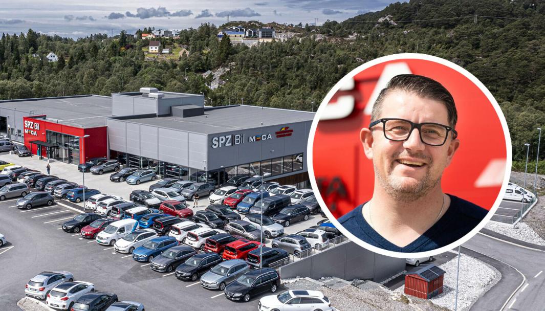 Robert Kjerrgård, daglig leder og medeier i SPZ Bil.