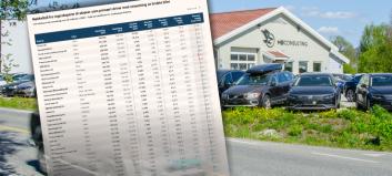 Knallår for bruktbilforretningene: Disse tjente mest
